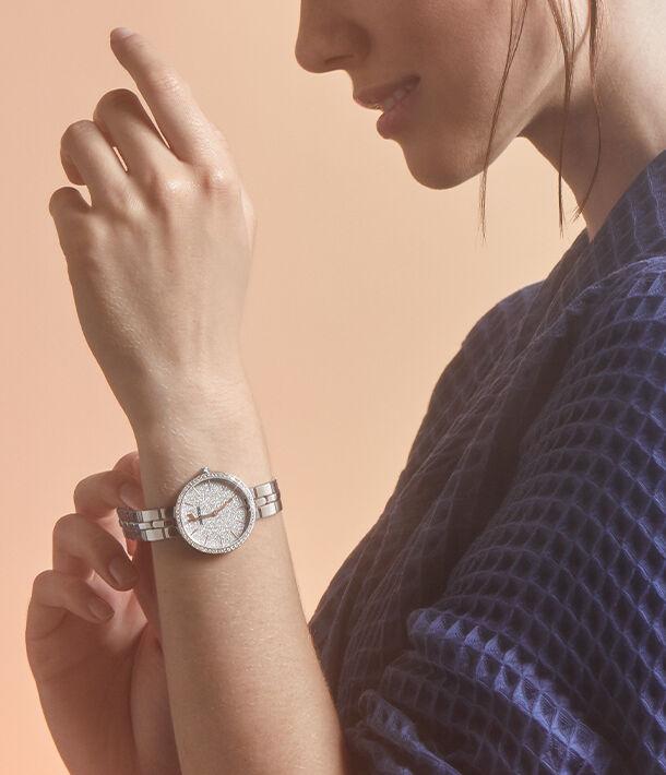 watch, swarovski, crystal, crystalline, cosmopolitan