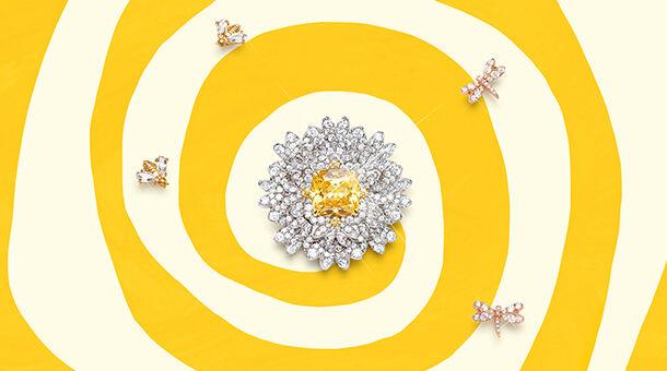 mother's day, swarovski, necklace, flower, earrings