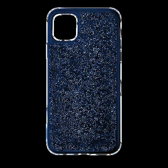حافظة Glam Rock للهاتف الذكي بحواف مضادة للصدمات، iPhone® 12 Pro Max، لون أزرق