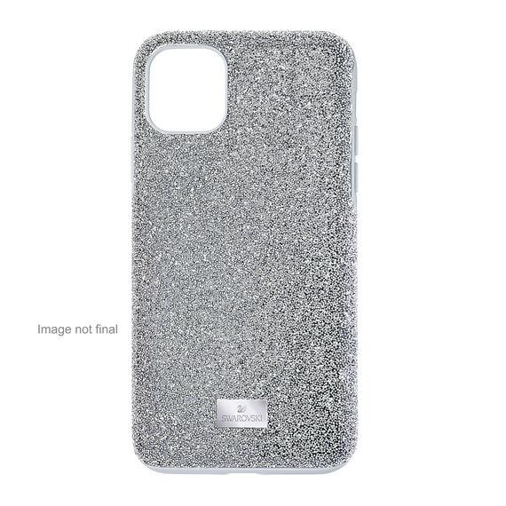 حافظة High للهاتف الذكي، iPhone® 12/12 Pro، لون فضي