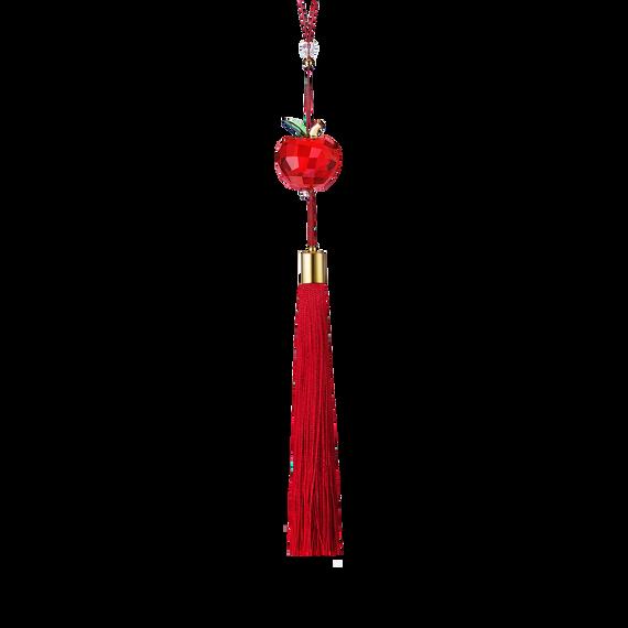 زينة التفاحة الحمراء