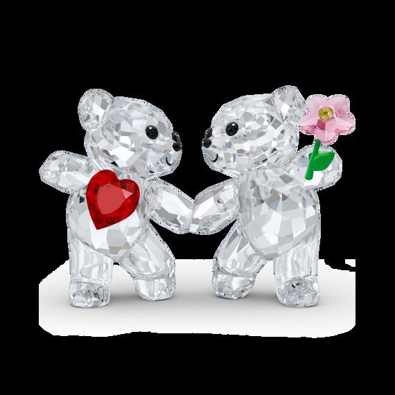 قطعة زينة على شكل الدب Kris - دبين سعيدين معاً