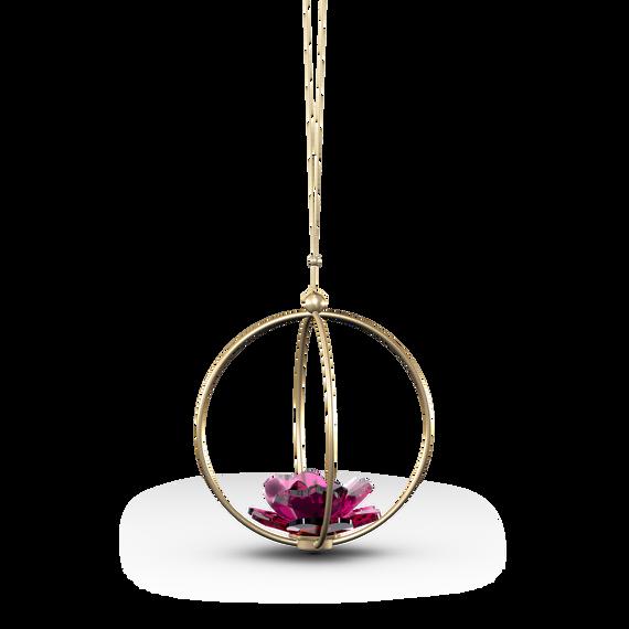 قطعة زينة Garden Tales بتصميم وردة محاطة بكرة، حجم كبير