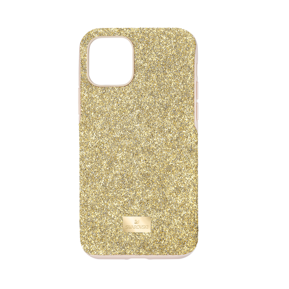 حافظة High للهاتف الذكي بحواف مضادة للصدمات، iPhone® 11 Pro، لون ذهبي