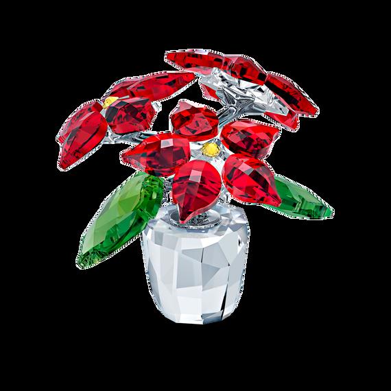 زينة على شكل زهور البونسيتة Poinsettia