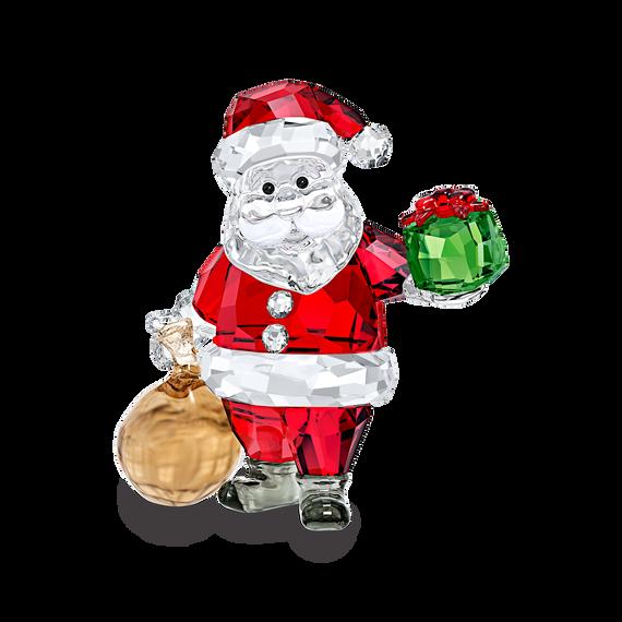 زينة على شكل سانتا كلوز مع حقيبة هدايا