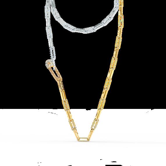 سلسلة So Cool، بيضاء اللون، مع طبقة خارجية معدنية مختلطة