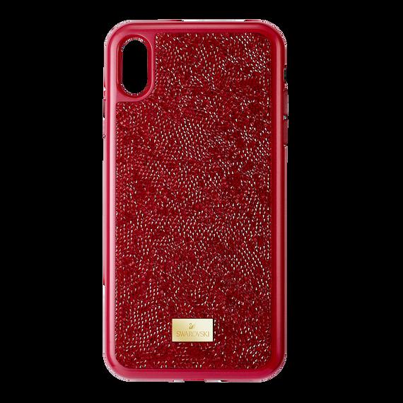 غطاء الهاتف الذكي iPhone® XS Max ، Glam Rock  ، أحمر