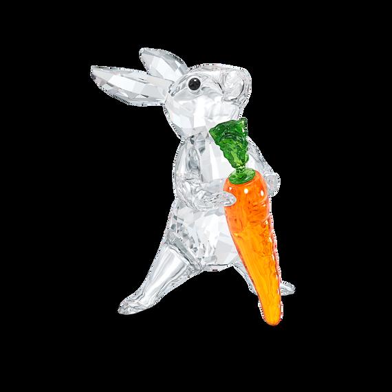 زينة على شكل أرنب مع جزرة