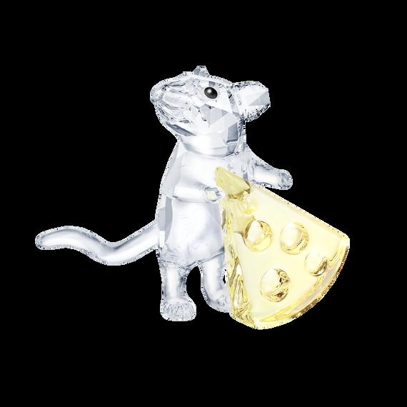الفأر مع الجبن