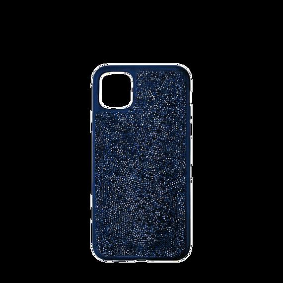 حافظة Glam Rock للهاتف الذكي بحواف مضادة للصدمات، iPhone® 12 mini، لون أزرق