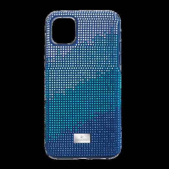 غطاء هاتف ذكي Crystalgram بمصد مدمج،  iPhone® 11 Pro Max، أزرق اللون