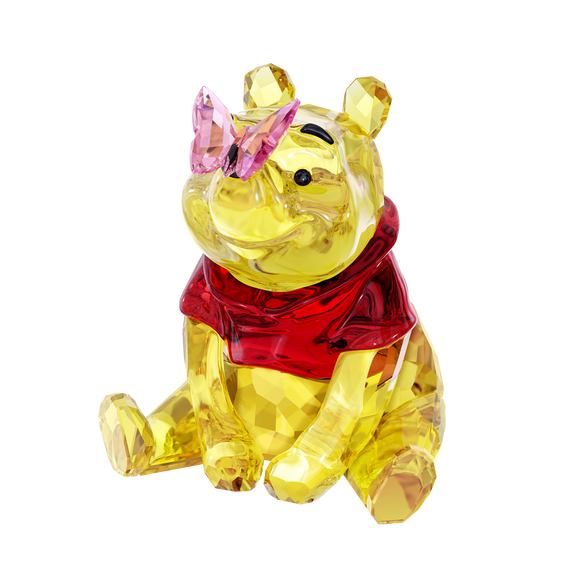 Winnie the Pooh with Butterfly