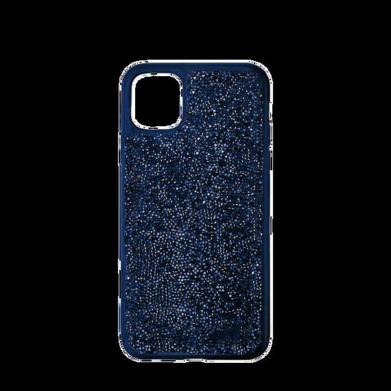 حافظة Glam Rock للهاتف الذكي بحواف مضادة للصدمات، iPhone® 12/12 Pro، لون أزرق